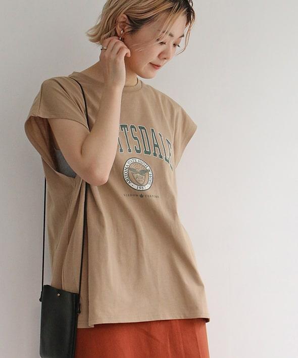 カレッジフレンチSLTシャツ