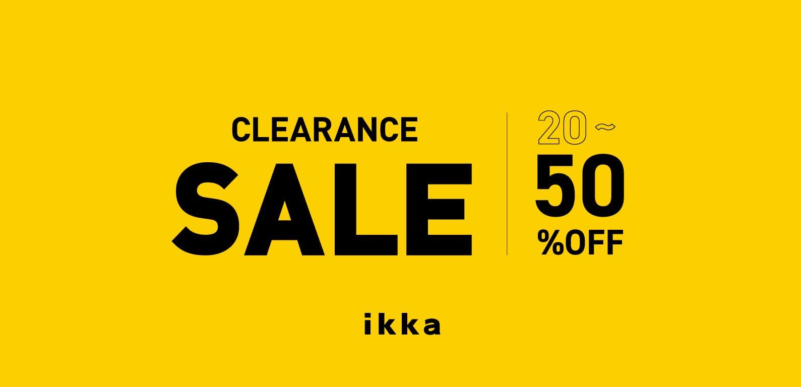 ikka   CLEARANCE SALE