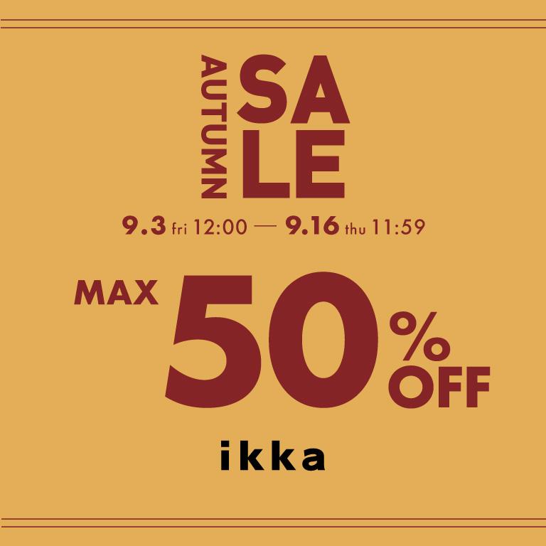 ikka | AUTUMN SALE