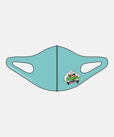 かまいたちのヘイ!タクシー! マスク 突破 かまタクブルー