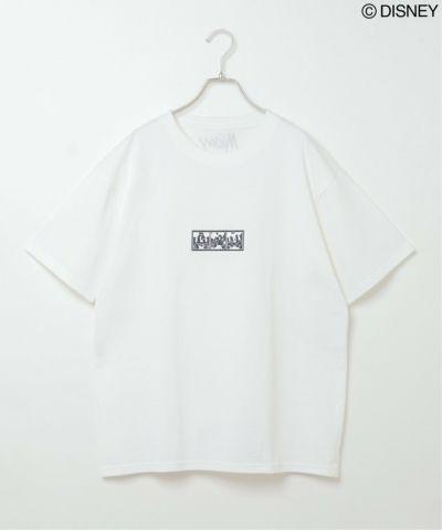 ミッキーアイコンプリントTシャツ